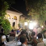 pendapa Rumah Dinas Walikota Loji Gandrung Solo yang dijadikan lokasi Gala Dinner acara ASEAN Blogger Festival Indonesia 2013 Kamis malam (9/05/2013)